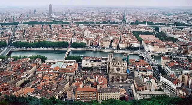 Lyon vue depuis fourviere