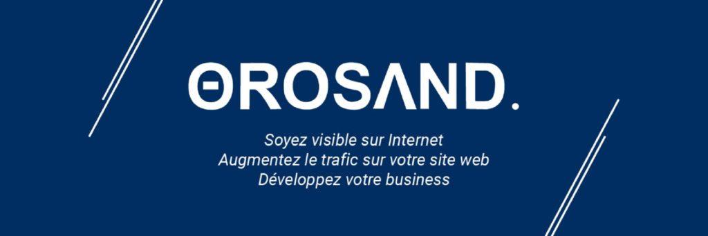 Orosand agence de référencement naturel