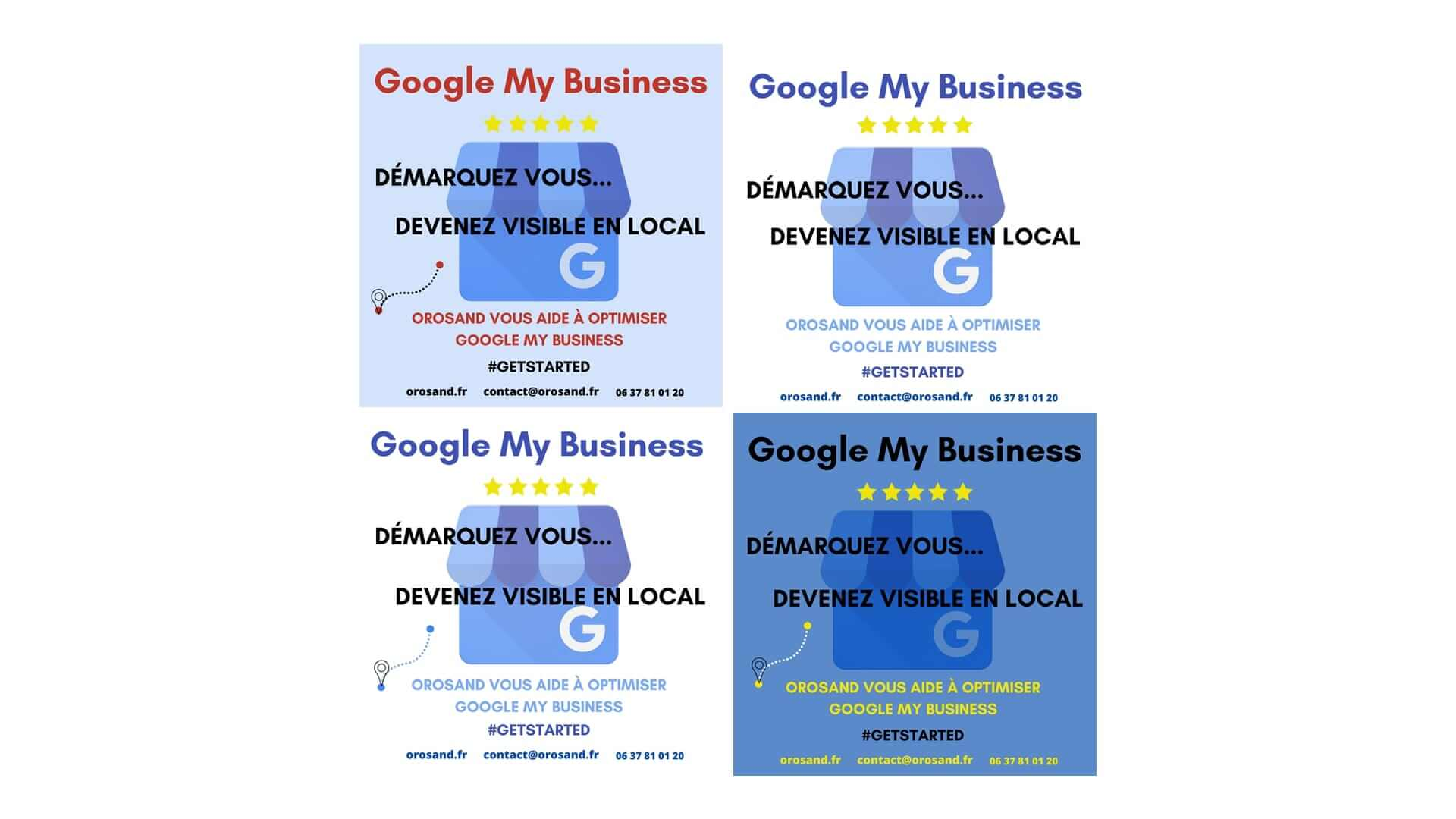 Google My business visibilité locale